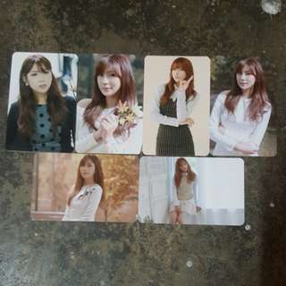 Apink hayoung pink luv official photocard set