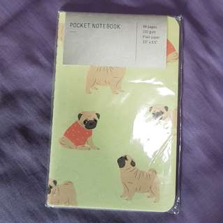 Bulldog Pocket Sized Notebook