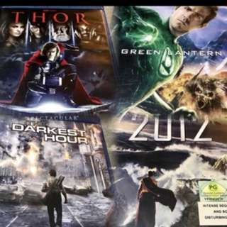 CNY SALE!! Original Bluray blockbusters at $10 each