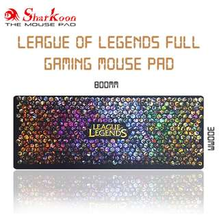 League of Legends Full Rubber Gaming Mouse Pad / Mousepad