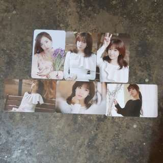 Apink namjoo pink luv official photocard set