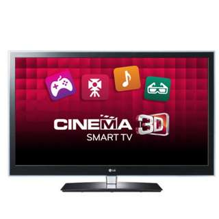 "42"" smart 3D LG Television"