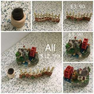 (Used) Fish Tank Accessories