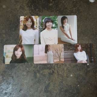 Apink eunji pink luv official photocard set