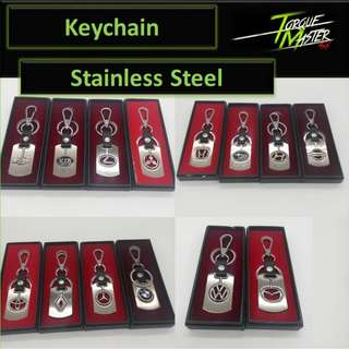 Stainless Steel Key chain Car Logo