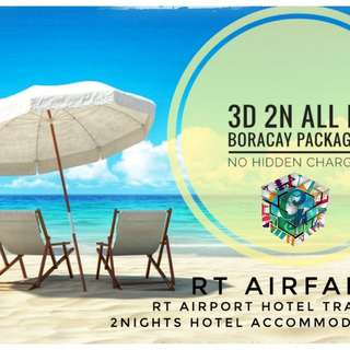 3d 2n ALL IN BORACAY PACKAGES for April17-192018