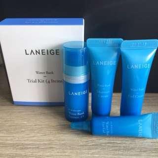 Laneige Water Bank Travel Size Kit (4-pc)