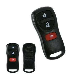 Casing Remote 3 Tombol Nissan Gran Livina Xtrail