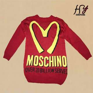 Authentic Moschino Knitted Dress