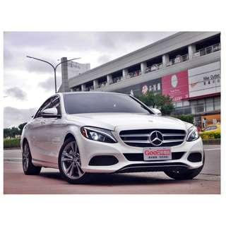~澄泰車業~ 正2016年 Benz C300 W205 免鑰匙/盲點/大螢幕/導航/倒顯/柏林