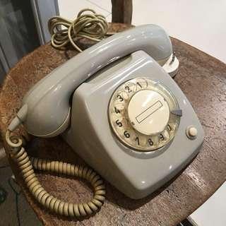 懷舊 轉盤電話