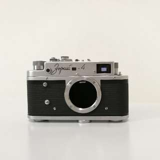 Zorki-4 Rangefinder Film Camera