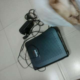 Singtel wifi gigabit router AC 1900