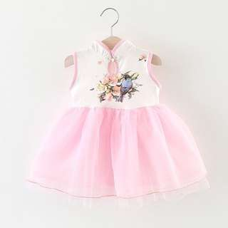 Chinese New Year baby girl dress