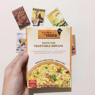 Bumbu Nasi Biryani India