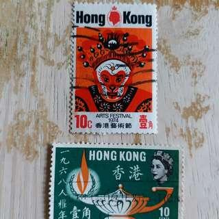 香港97回歸前已銷郵票A01