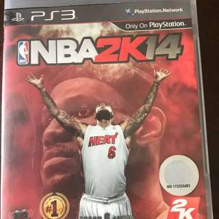 PS3 Games NBA2K14