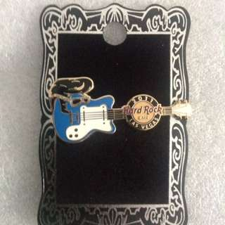 Hard Rock Cafe Pins - LAS VEGAS (STRIP) HOT 2011 WIG GUITAR SERIES #1!
