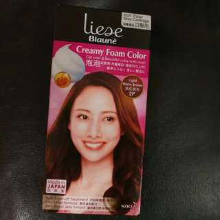 BN Liese Light warm brown Creamy foam colour
