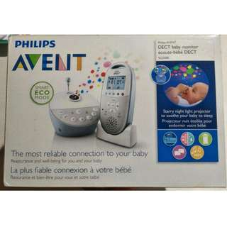 Avent Dect Baby Monitor Plus Night Light Projector