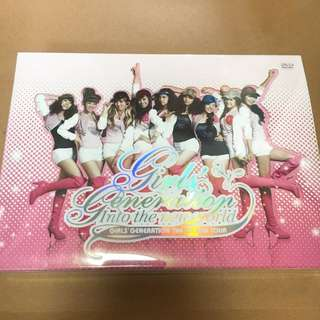 少女時代Girl's Generation 全新DVD- First Asia Tour