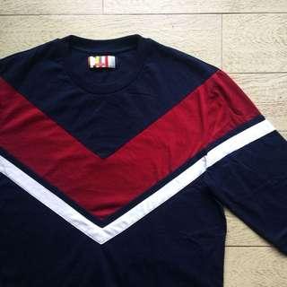 Bench Varsity-Themed Long Sleeve Shirt