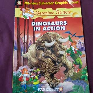 Geronimo Stilton - Dinosaurs in Action comic