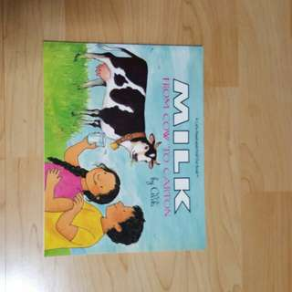 Milk From Cow To Carton (1 book)