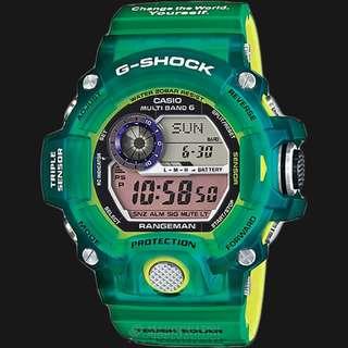 Casio G-Shock 日本版森林地球貓 GW9401KJ-3JR GW9401 GW9400 Rangeman 森林貓 Supreme Adidas Nike Frogman G Shock Gshock