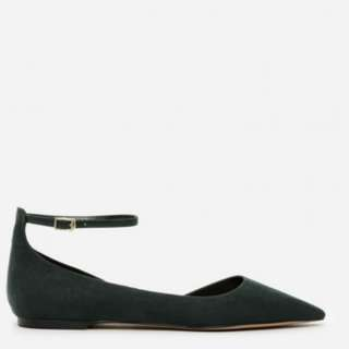 Charles and Keith Ankle Strap D'Orsay Flats