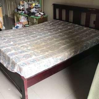 Ranjang Kayu size 160x200