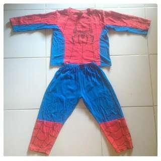 Stelan Baju Spiderman