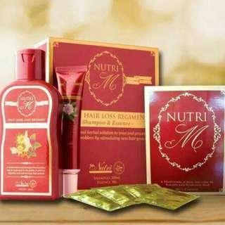 Nutri M Black Shampoo (Shampoo Anti-uban)