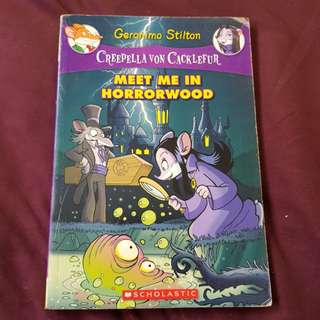 Geronimo Stilton - Meet me in Horrorwood
