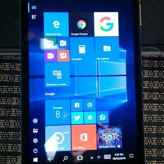 """NuVision 8"""" Windows 10 PC Tablet Signature Edition"""