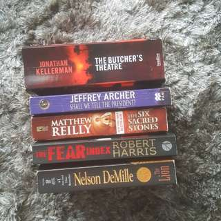 {Nothing above $3} Pre-loved Novels