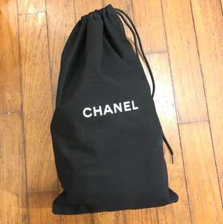 Chanel cotton pouch