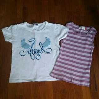 2@$5 Girls Tops T-shirts