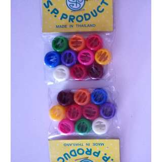 Colorful clips (pack)