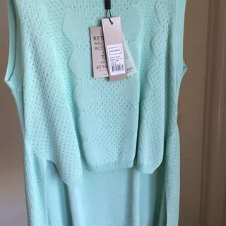 Thurley Top, Size Small, Colour Peppermint Cream *PRICE REDUCED