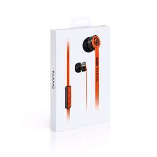 Sudio Sweden Klang Earphones - Orange