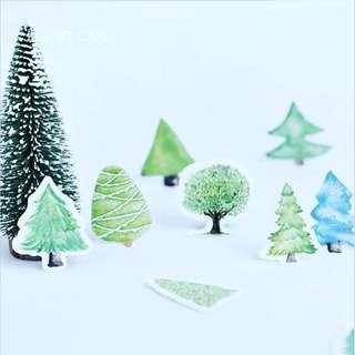 樹的貼紙包