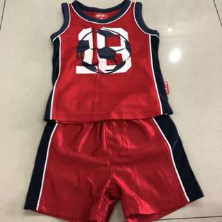 1set Miki sport wear (1-2years)