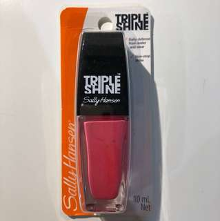 Sally Hansen Triple Shine Hot Pink Nail Polish