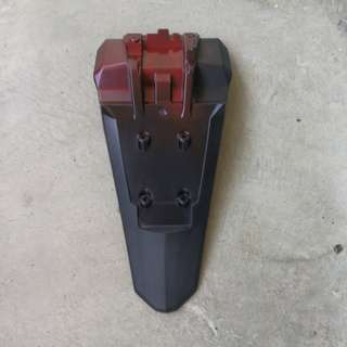 FZ16 rear mud guard