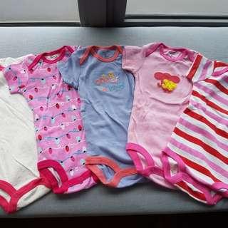 Carter's baby girl onesie