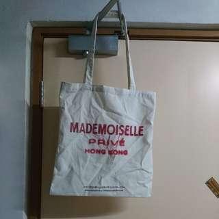 Mademoiselle prive hong kong tote bag