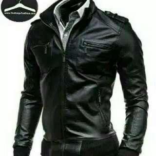 Jaket kulit pria murah casual 01