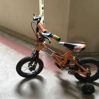 Aleoca max 12 kids bicycle