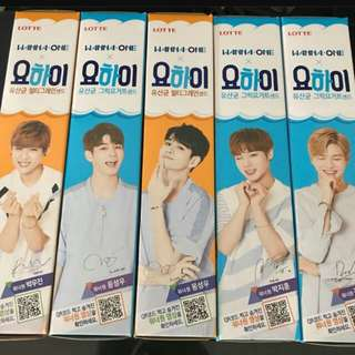 (PREORDER) WANNA ONE YOHI & GHANA